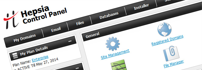 Shared Hosting Plans Control Panel